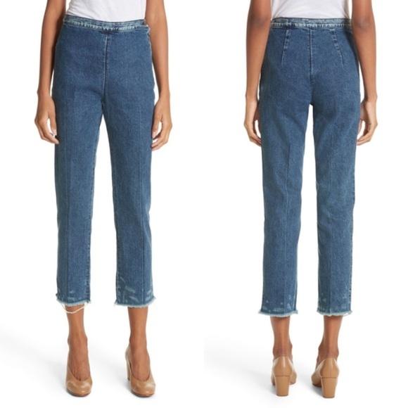 Rachel Comey Denim - Rachel Comey Fletcher Slim Straight Cropped Jeans
